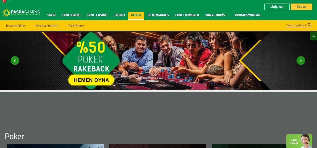 PashaGaming Poker