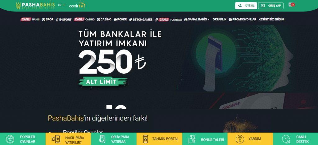Pashabahis Sitesi Para Yatırma Seçenekleri