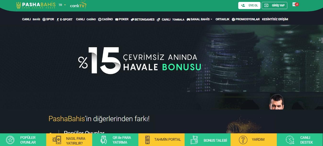 Pashabahis Casino Oyunları Nelerdir