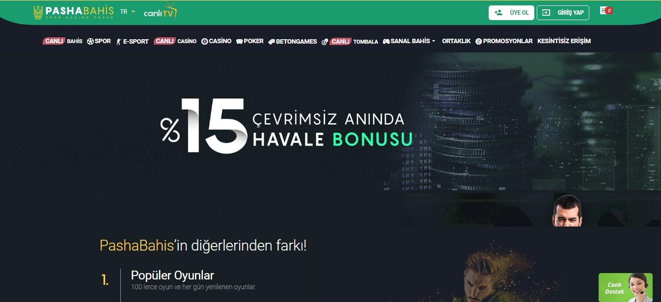 Pashabahis Casino Para Yatırma