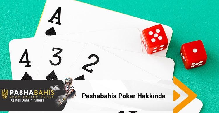 Pashabahis Poker Hakkında