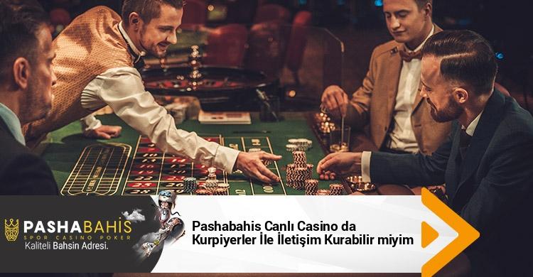 Pashabahis Canlı Casino da Kurpiyerler İle İletişim Kurabilir miyim